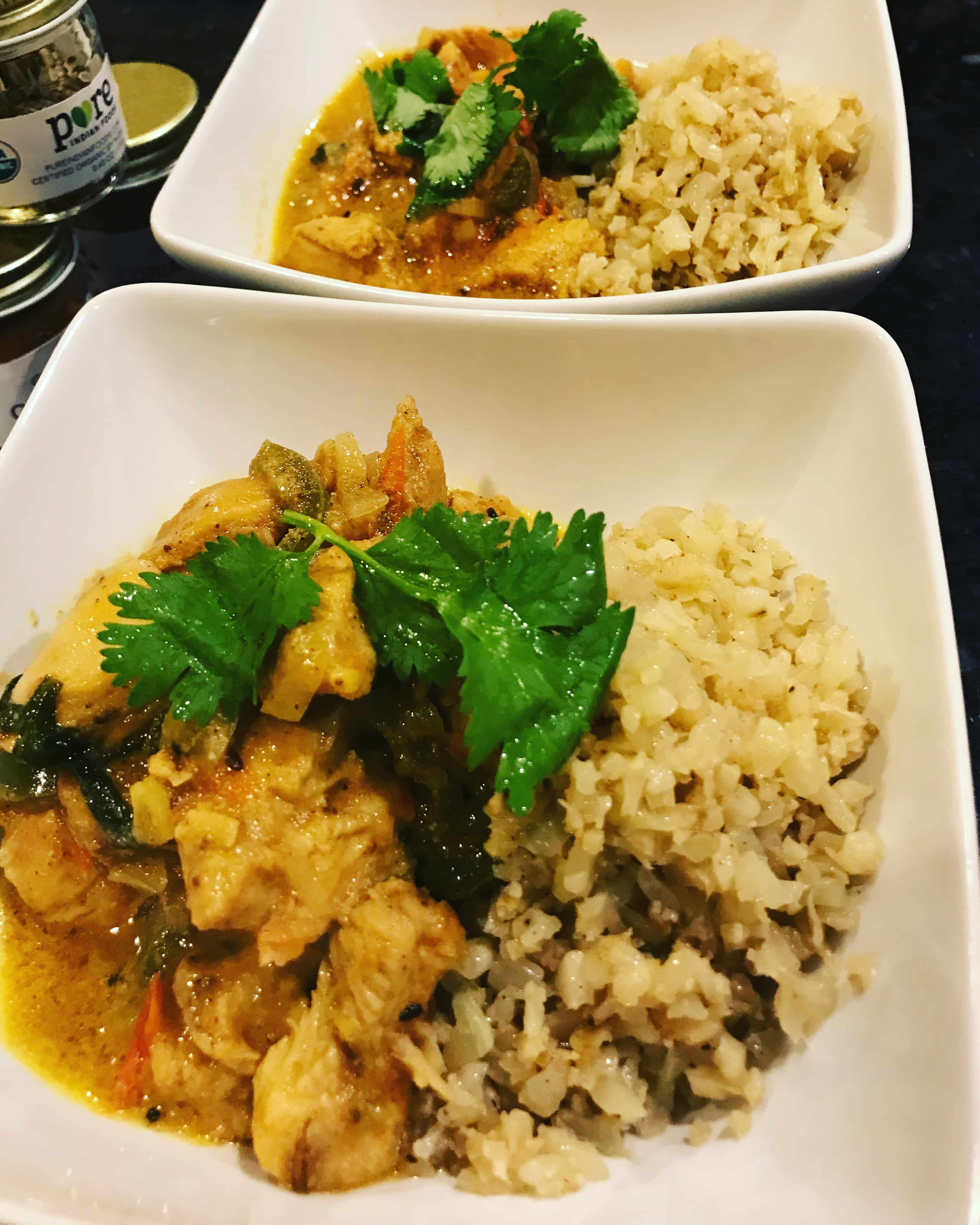 Whole30 Indian Butter Chicken