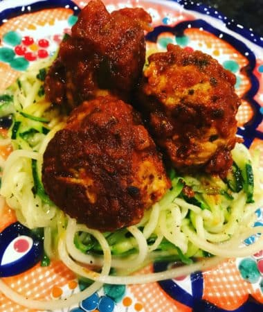 Whole30 Turkey Meatballs