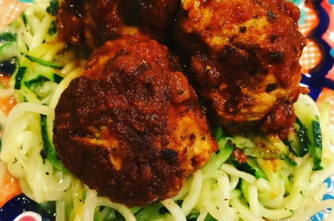 Whole30 Turkey Meatballs