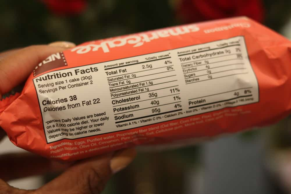 Smart Baking Company Cinnamon Cake Nutrition Facts