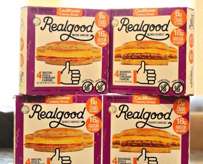 Real Good Foods Breakfast Sandwich