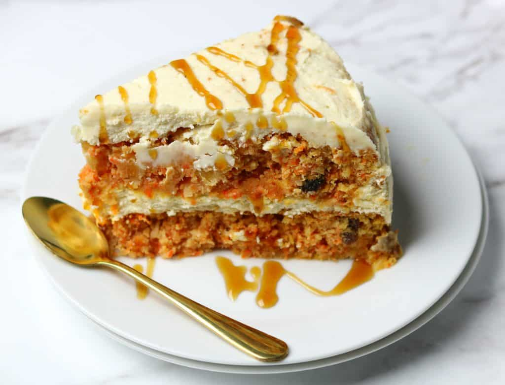 Keto Diet Carrot Cake Recipe: The Best Low Carb Carrot Cake (No Sugar Added)