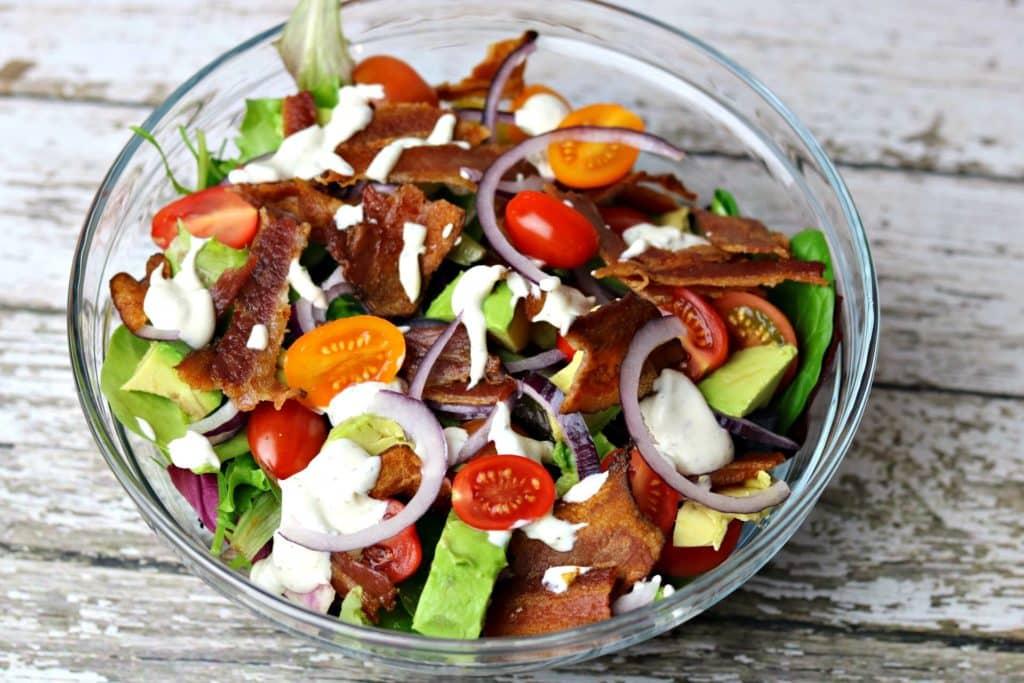 BLT Avocado Salad