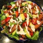 BLT+A Salad
