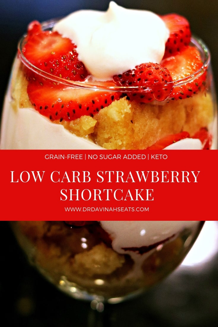 Low Carb Strawberry Shortcake