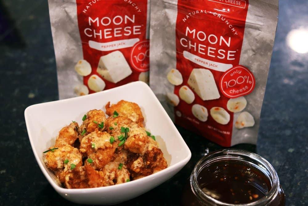 Keto Bang Bang Shrimp and Moon Cheese