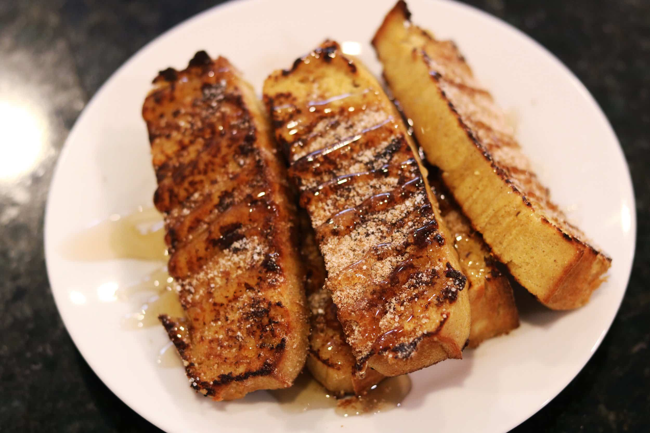 Keto French Toast Sticks