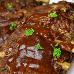 Instant Pot BBQ Ribs Pinterest Image