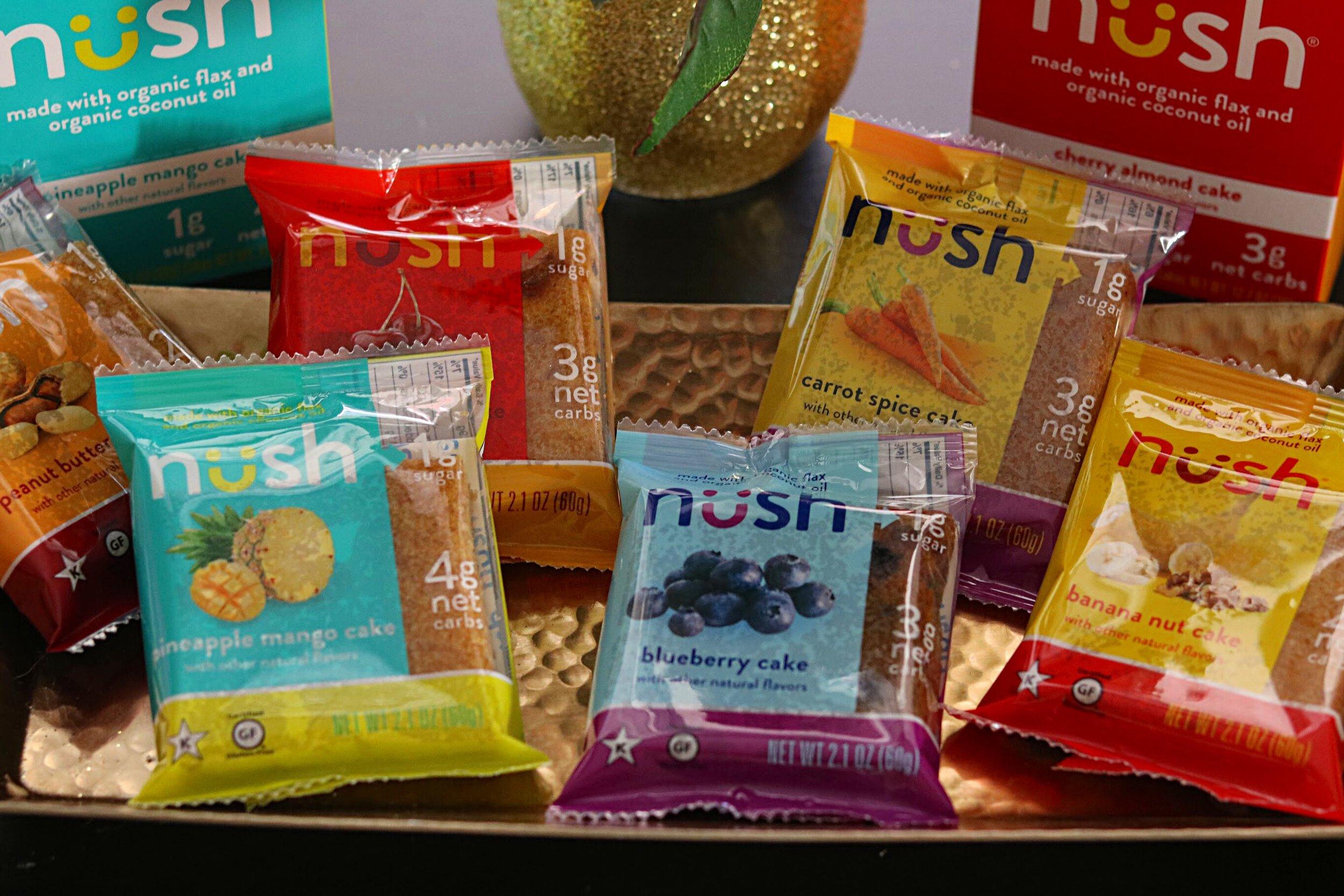 An assortment of Nush Cakes