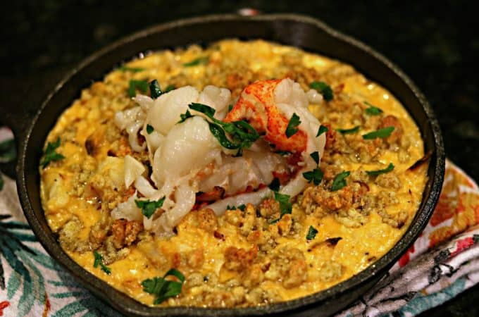 Lobster Cauliflower Mac n' Cheese