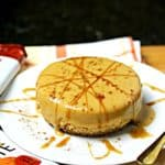 Low Carb Pumpkin Brandy Cheesecake w/ Ginger Something Crust