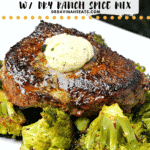 Easy Beef Top Sirloin recipe with ranch dressing mix