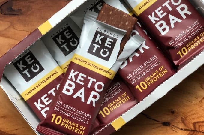 Perfect Keto Almond Butter Brown Bars