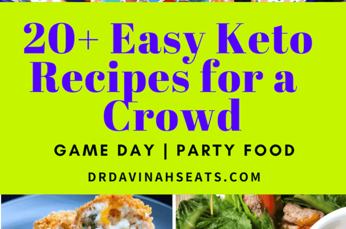 Looking for keto Super Bowl food ideas? Need easy keto appetizers for a crowd? I gather up more than 20 of the best easy keto recipes for a crowd.