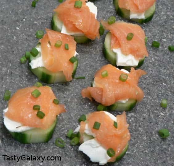 Smoked Salmon Low Carb Appetizer