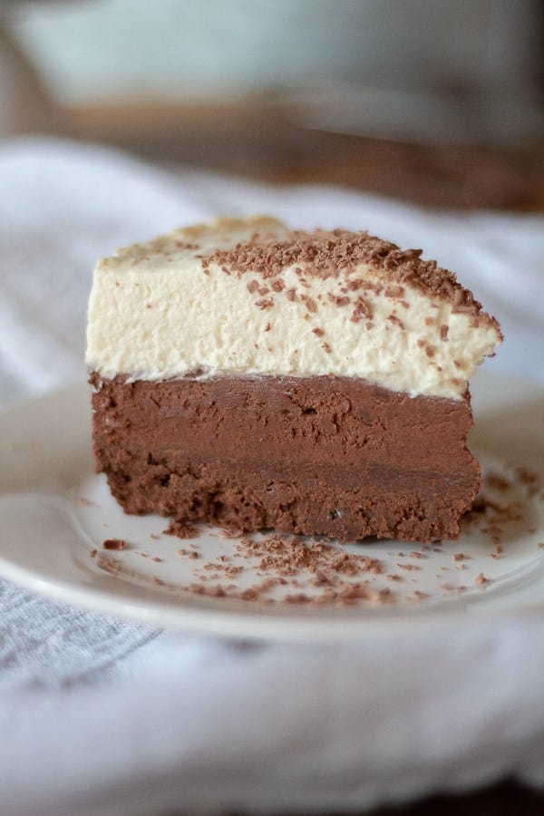 Triple Chocolate Keto Mousse Cake Recipe
