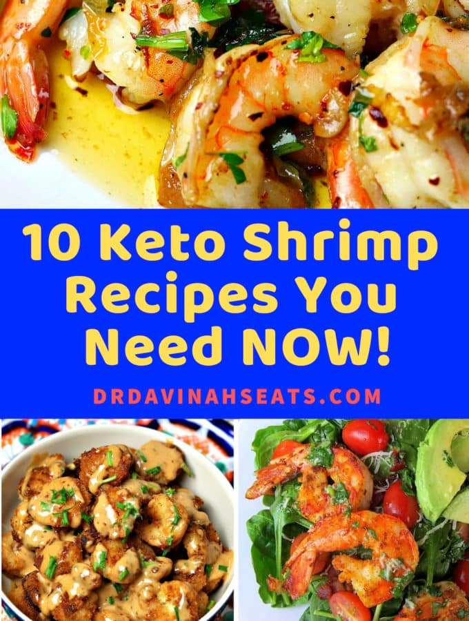 Keto Bang Bang Shrimp and Low Carb General Tso are just two of the drool-worthy keto & low carb recipes you'll get in this guide! These are perfect for seafood lovers & easy! #ketorecipes #lowcarbrecipes #shrimp #nosugaradded #shrimprecipes #easydinners #ketodinners