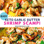 Garlic Butter Shrimp Scampi Pinterest Image