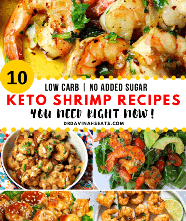 Pinterest Image for 10 Keto Shrimp Recipes