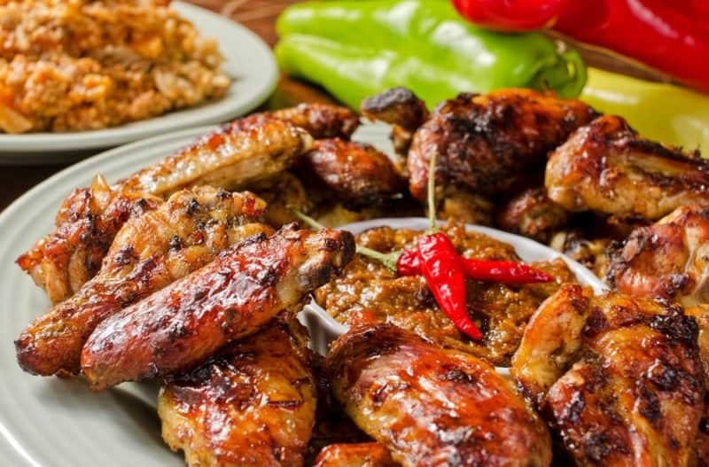 A Low Carb option for Nando's Chicken Wings