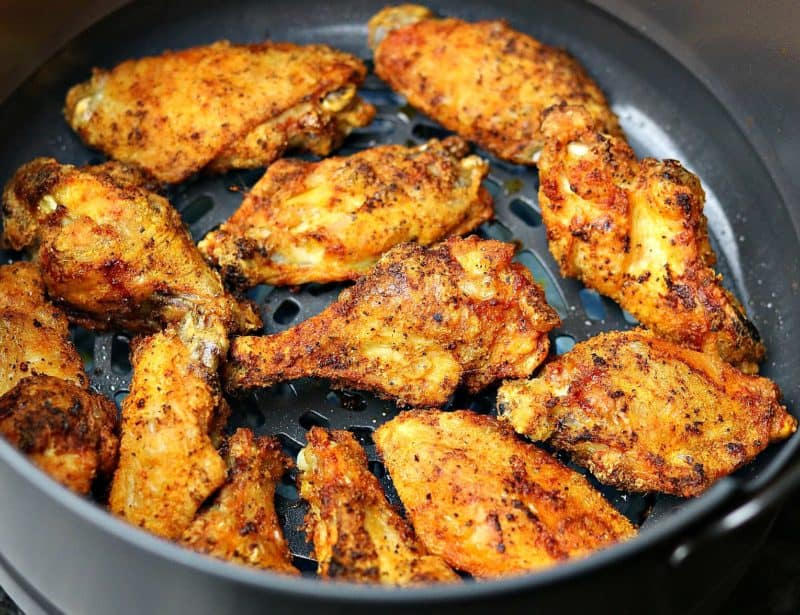 Ninja Air Fryer Fried Chicken Wings Recipe