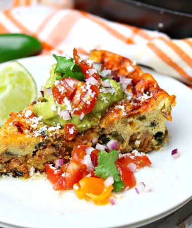 Baked Mexican frittata recipe