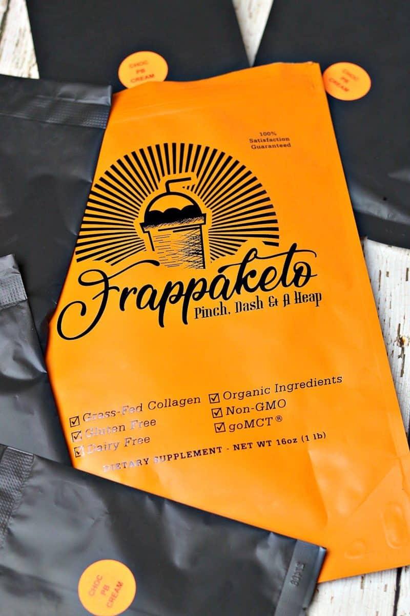 Frappaketo Peanut Butter & Cacao keto mix