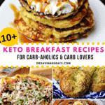 Pinterest image for keto breakfast recipes