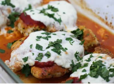 Keto Chicken Dinners Recipe - Keto Chicken Parmesan