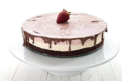 Sugar free Neapolitan cake