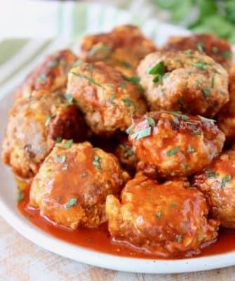 Buffalo Sausage Balls