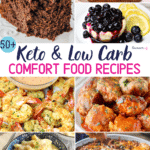 Pinterest Image for Keto Comfort Food Recipes
