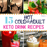 Keto Drink Recipes Pinterest image