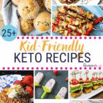 Pinterest Image for Kid-friendly Keto Recipes