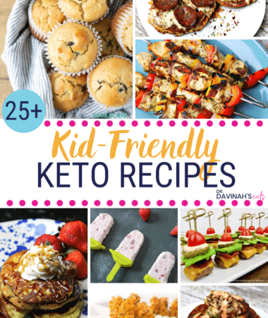 Pinterest Image for Kid-friendly Keto Recipes