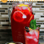 Keto Blueberry Iced Tea Lemonade | Dr  Davinah's Eats