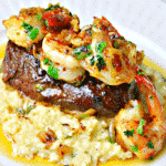 Surf & Turf on a plate