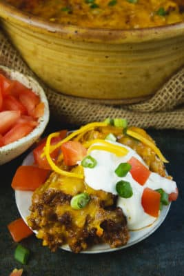 Taco Casserole Keto Comfort Foods