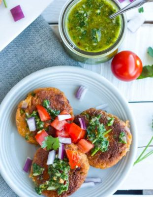 low carb Salmon cakes
