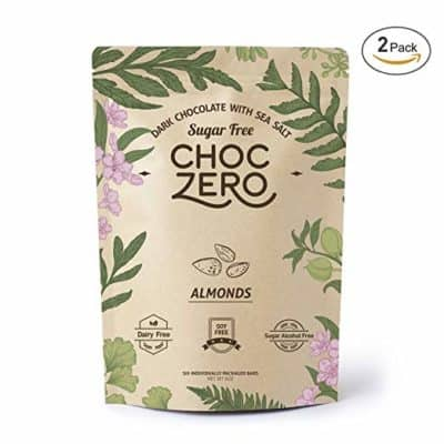 ChocZero Keto Bark with Almonds