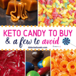 Pinterest image for Keto Candy to buy
