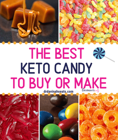 The Best Keto Candy Pinterest image