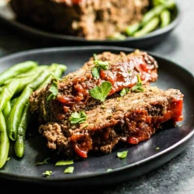 Low Carb Ground Beef Meatloaf
