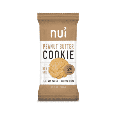 Nui Peanut Butter Cookies a keto snack to buy