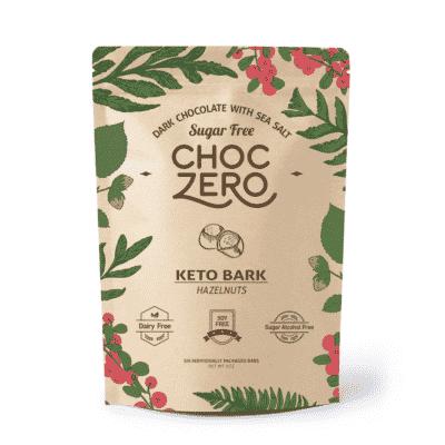 Choc Zero Hazelnut Keto Candy snack