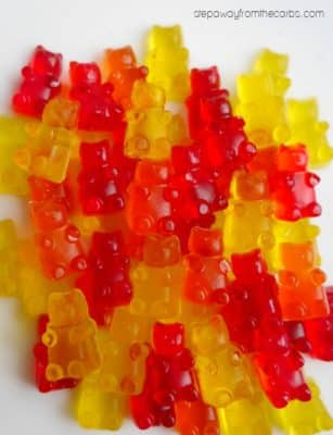 Sugar-free Candy Recipe for Gummy Bears