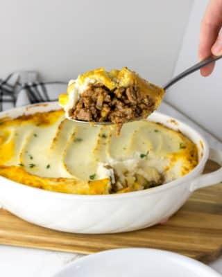 Keto Comfort Food Shepherd's Pie