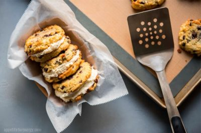 Keto Chocolate Chip Cookie Sandwiches