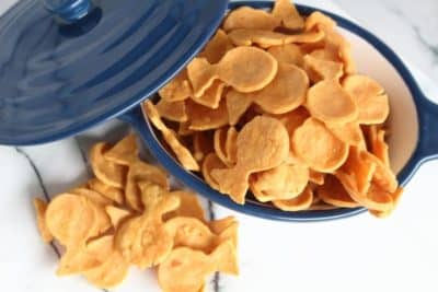 Low Carb Gold Fish Crackers
