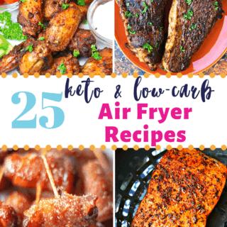 Keto Air Fryer Recipes pinterest image